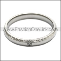Stainless Steel Ring r008449S