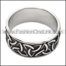 Stainless Steel Ring r008495SH