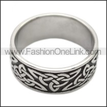 Stainless Steel Ring r008494SH