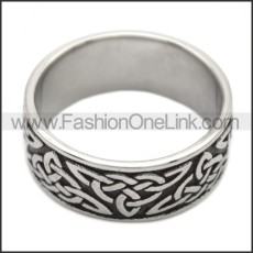 Stainless Steel Ring r008494SH