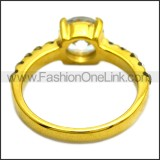 Stainless Steel Ring r008463G