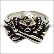 Stainless Steel Ring r008457SH1