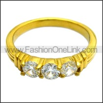Stainless Steel Ring r008460G