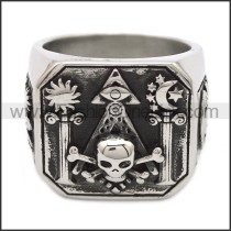 Stainless Steel Ring r008520SH