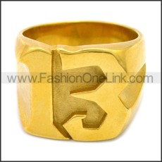 Stainless Steel Ring r008512G