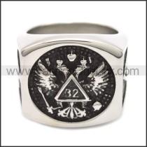 Stainless Steel Ring r008519SH