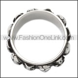 Stainless Steel Ring r008513SH