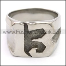 Stainless Steel Ring r008512S