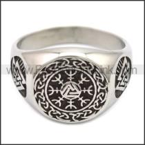 Stainless Steel Ring r008509SH