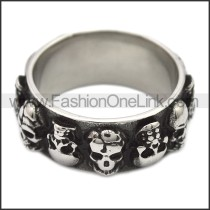 Stainless Steel Ring r008513SH
