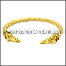 Stainless Steel Raven Bangle for Ladies b009818G