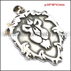 Stainless Steel Pendant p010552SH1
