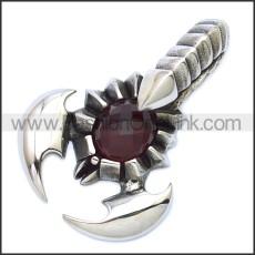 Stainless Steel Pendant p010533SR