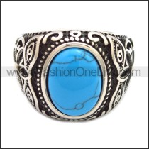 Stainless Steel Ring r008536SH3