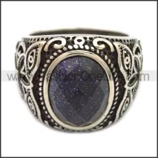 Stainless Steel Ring r008536SH2