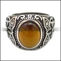 Stainless Steel Ring r008536SH1