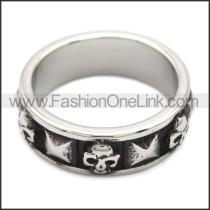 Stainless Steel Ring r008540SH