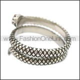 Stainless Steel Ring r008548SH