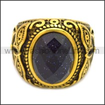 Stainless Steel Ring r008536GH1
