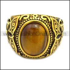 Stainless Steel Ring r008536GH2