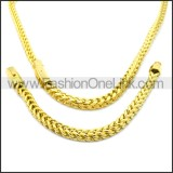 Stainless Steel Jewelry Sets s002950G