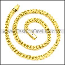 Stainless Steel Chain Neckalce n003132G