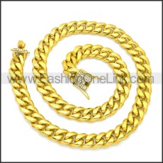 Stainless Steel Chain Neckalce n003128G