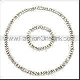 Stainless Steel Jewelry Sets s002945S