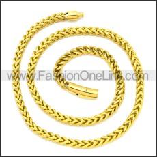 Stainless Steel Chain Neckalce n003129GW8