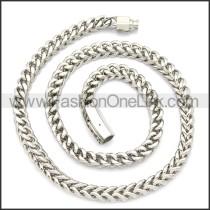 Stainless Steel Chain Neckalce n003132S
