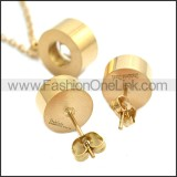 Stainless Steel Jewelry Sets s002938R