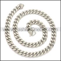 Stainless Steel Chain Neckalce n003133S2