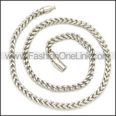 Stainless Steel Chain Neckalce n003129SW8