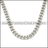 Stainless Steel Jean Chain w Skull Clasp for Mens y000061S