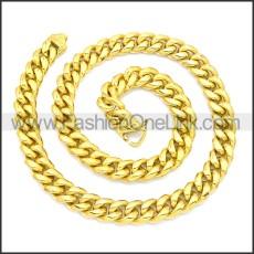 Stainless Steel Chain Neckalce n003133G2