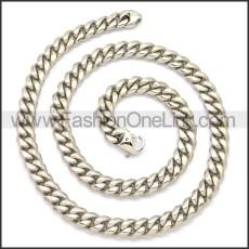 Stainless Steel Chain Neckalce n003127S