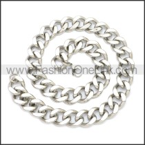 Stainless Steel Chain Neckalce n003136S