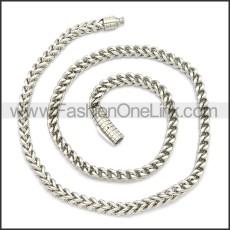Stainless Steel Chain Neckalce n003130S