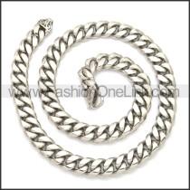 Stainless Steel Chain Neckalce n003133S1