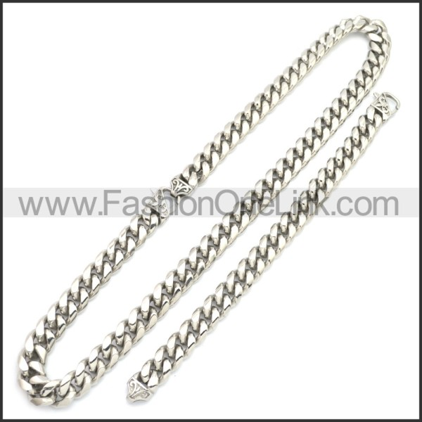 Stainless Steel Jewelry Sets s002951S1