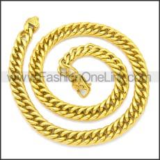 Stainless Steel Chain Neckalce n003134G