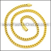 Stainless Steel Chain Neckalce n003130G