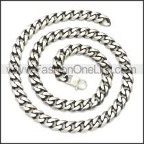 Stainless Steel Chain Neckalce n003138SH7