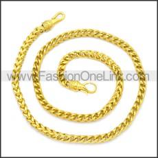 Stainless Steel Chain Neckalce n003131G
