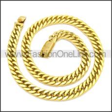 Stainless Steel Chain Neckalce n003121G