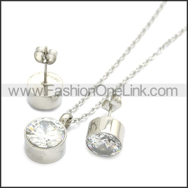 Stainless Steel Jewelry Sets s002938S