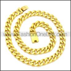 Stainless Steel Chain Neckalce n003122G