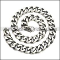 Stainless Steel Chain Neckalce n003137SHW20
