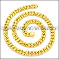 Stainless Steel Chain Neckalce n003127G