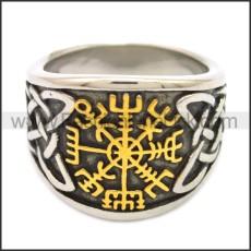 Stainless Steel Ring r008553SHG